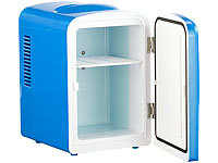 mini k hlschrank ac dc 12 230v 4l mit warmhalte funk blau b ware ebay. Black Bedroom Furniture Sets. Home Design Ideas