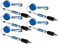 Bürobedarf 3er-Set Kugelschreiber mit Silikonhülle und Magnet