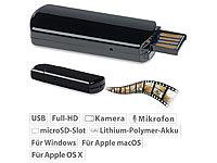 OctaCam Mini-Videokamera für ... mit microSD-Kartenleser