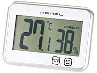 PEARL Digitales Thermometer & ... Minimum / Maximum, Touch