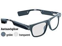 simvalley MOBILE Smart Glasses SG-... Bluetooth und 720p HD