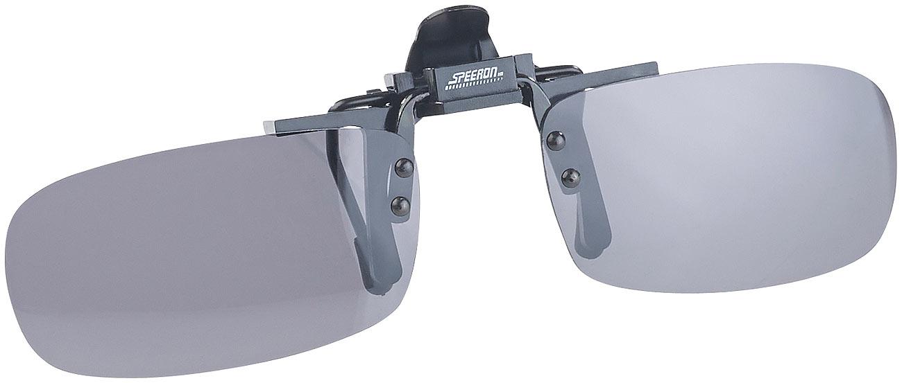 """Speeron Sonnenbrillen-Clip """"Modern"""" für Brillenträger, polarisiert"""
