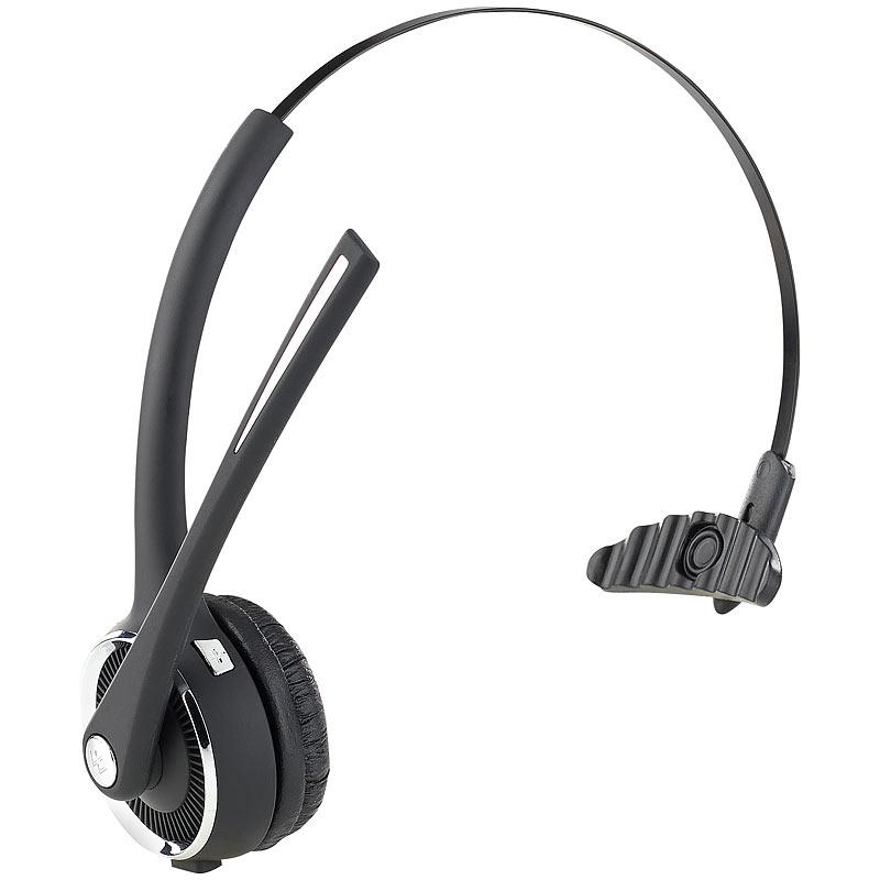 callstel profi mono headset mit bluetooth. Black Bedroom Furniture Sets. Home Design Ideas
