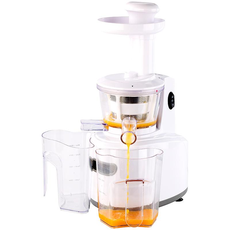 Slow Juicer zum schonenden Entsaften, 150 Watt, 72 Umdrehungen/Min. 4022107195751 eBay