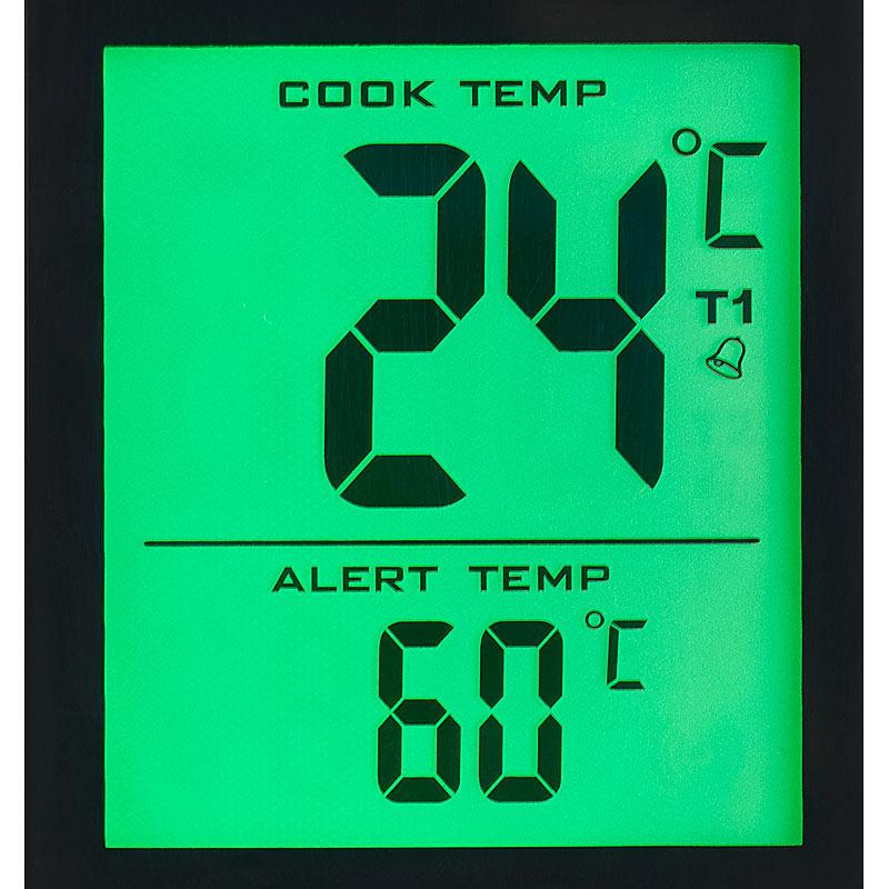 grillthermometer m bluetooth android ios app 2 temperatur f hler ebay. Black Bedroom Furniture Sets. Home Design Ideas