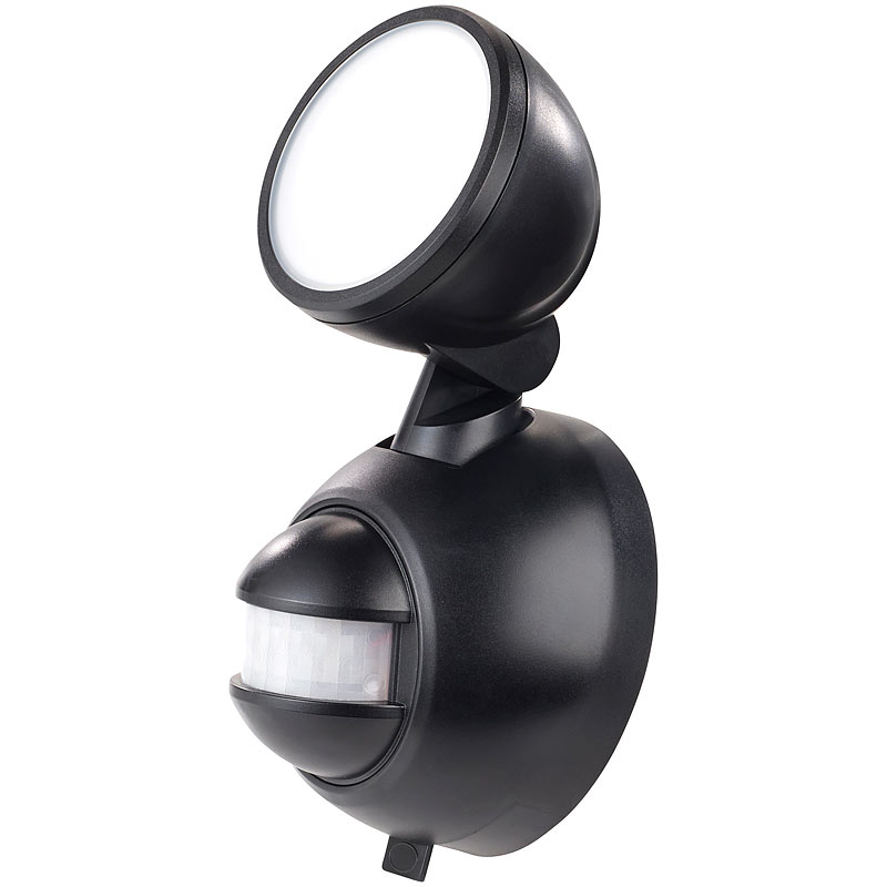 wandlampe kabellose led au enleuchte mit pir bewegungsmelder 1 w 80 lm ip44 4022107278041 ebay. Black Bedroom Furniture Sets. Home Design Ideas