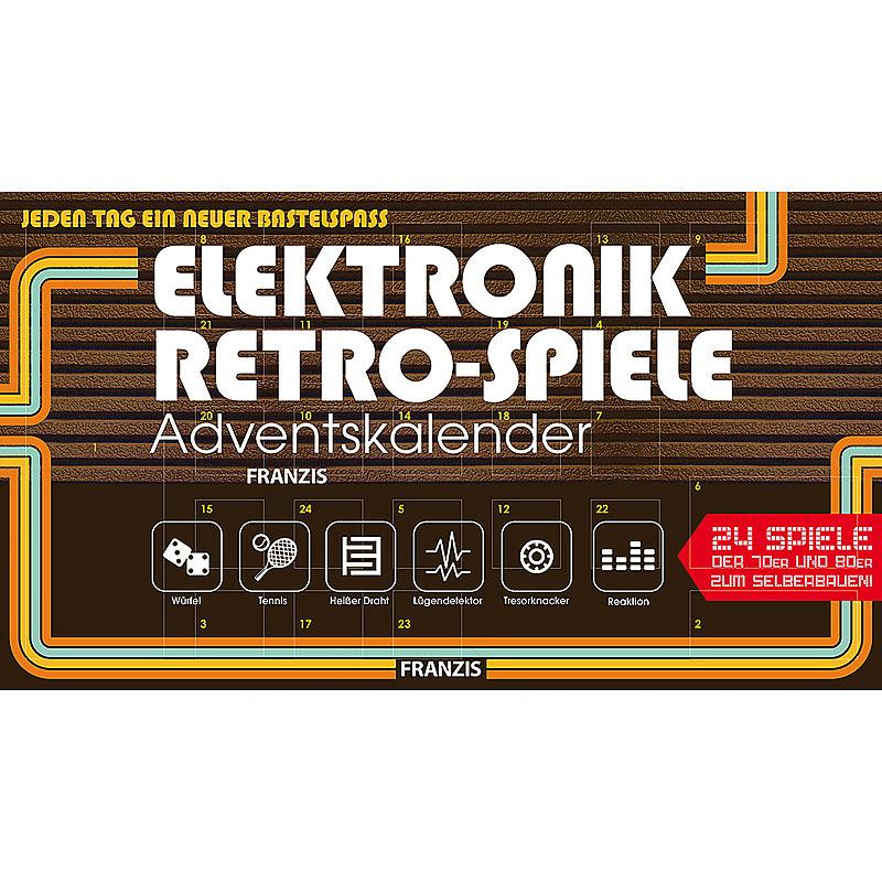 FRANZIS Elektronik Retro Spiele Adventskalender 2019   24