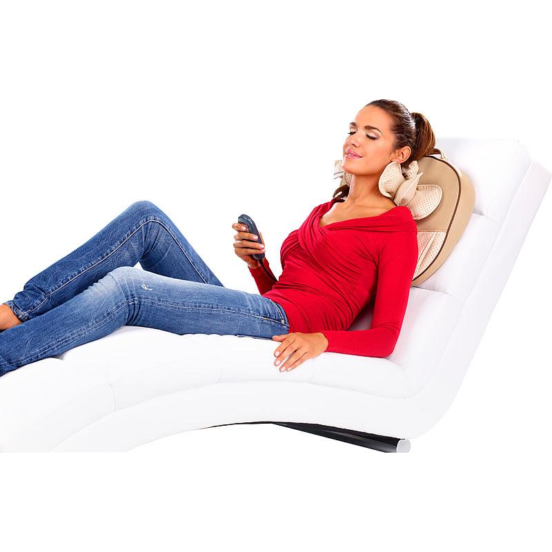 shiatsu massage kissen massagekissen f r nacken schultern r cken ebay. Black Bedroom Furniture Sets. Home Design Ideas