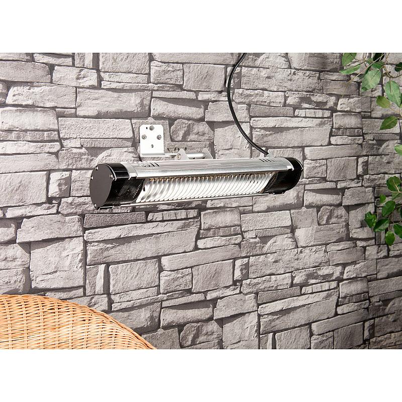 semptec infrarot au en heizstrahler irw 2000 mit goldr hre watt ip65 ebay. Black Bedroom Furniture Sets. Home Design Ideas