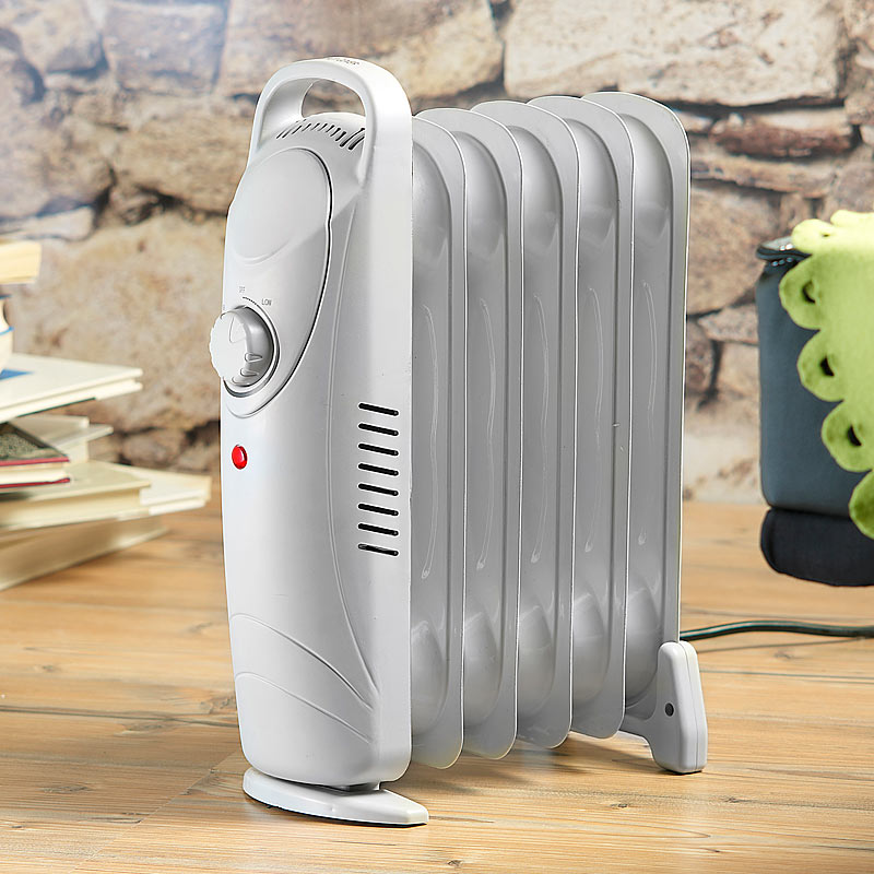 kleiner radiator mobile 600 watt elektroheizung l. Black Bedroom Furniture Sets. Home Design Ideas