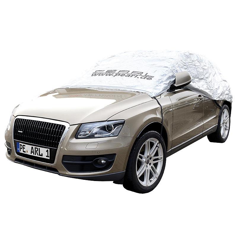 Abdeckplane Auto: Auto-Halbgarage für SUV & Kastenwagen ...