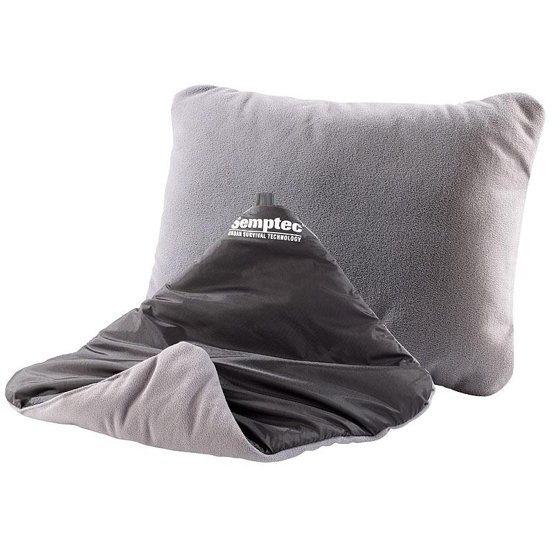 aufblasbares kissen aufblasbares wende kopfkissen 37 x 28 cm ebay. Black Bedroom Furniture Sets. Home Design Ideas