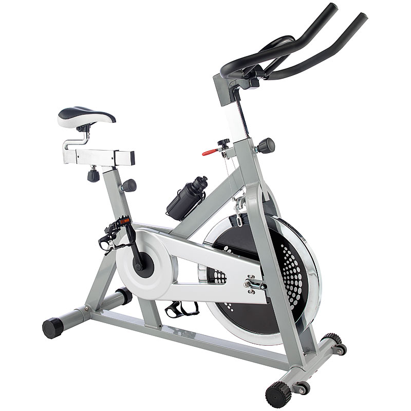 spinning rad indoor cycle 18 kg schwungmasse spinning bike ebay. Black Bedroom Furniture Sets. Home Design Ideas