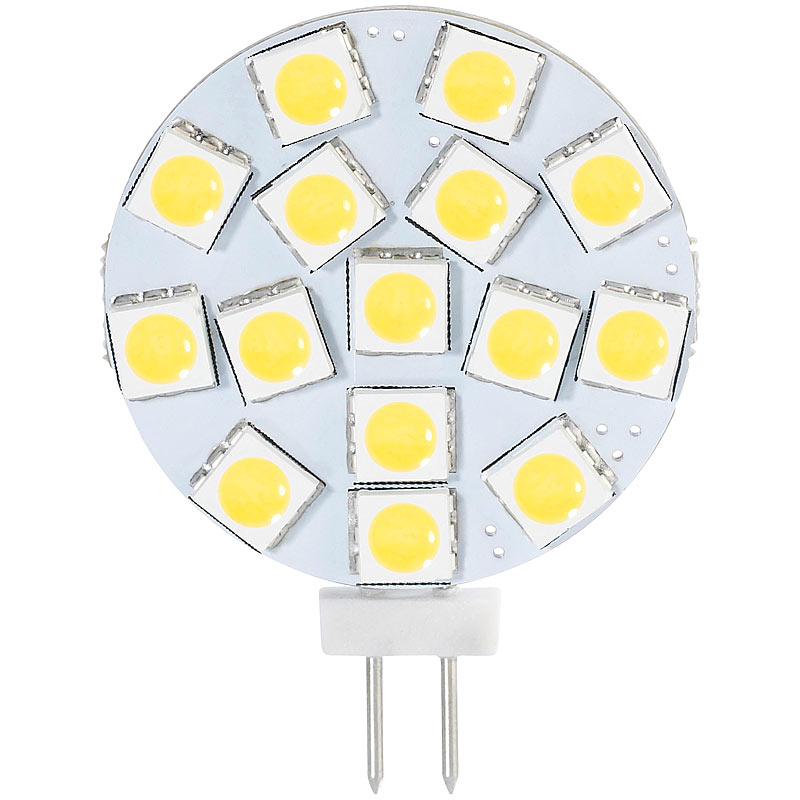 luminea high power g4 led stiftsockel mit smd5050 leds bi pin 3 w wei ebay. Black Bedroom Furniture Sets. Home Design Ideas