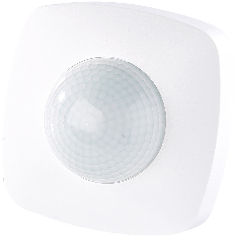 bewegungsmelder automatischer lichtschalter mit pir pr senz sensor ebay. Black Bedroom Furniture Sets. Home Design Ideas