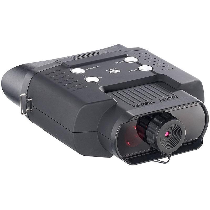 Zavarius Nachtsichtgerät DN-700, Binokular, bis 400 m Sichtweite, SD ...