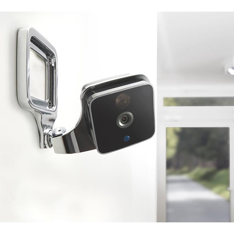 WLAN IP Kamera: WLAN-IP-Überwachungskamera mit App, HD ...
