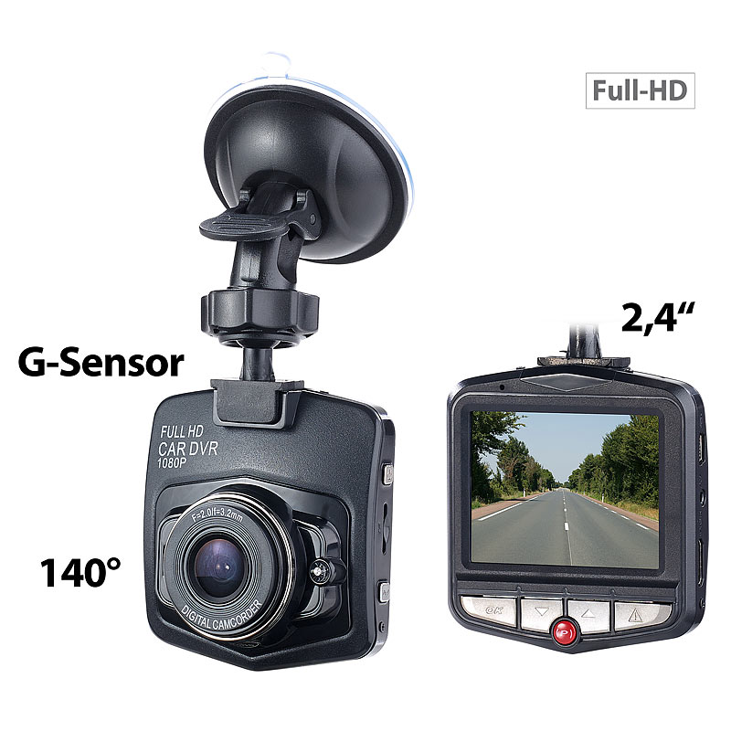 navgear hd dashcam m g sensor bewegungserkennung 6 1 cm. Black Bedroom Furniture Sets. Home Design Ideas
