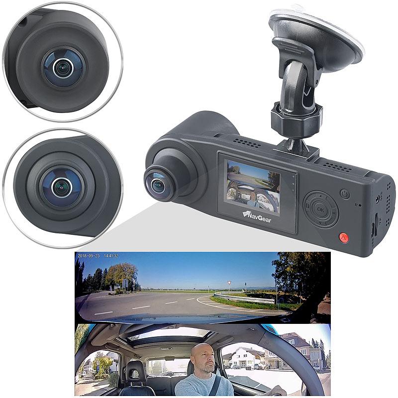 autokamera full hd dashcam mit 2 kameras f r 360. Black Bedroom Furniture Sets. Home Design Ideas