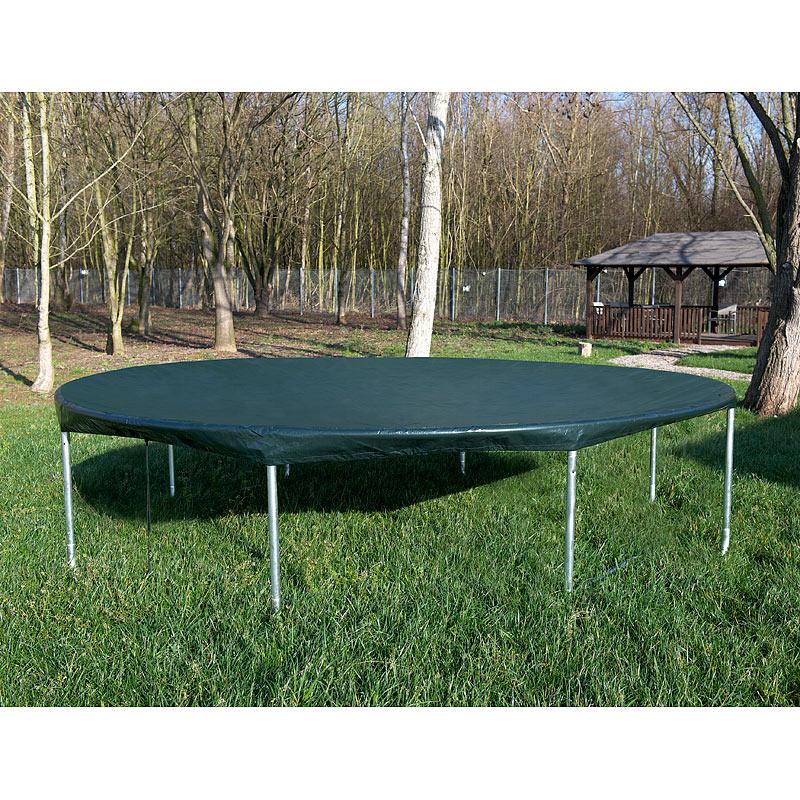 gewebe abdeckplane xxl rund f r pool trampolin 460 x 17 cm x h ebay. Black Bedroom Furniture Sets. Home Design Ideas