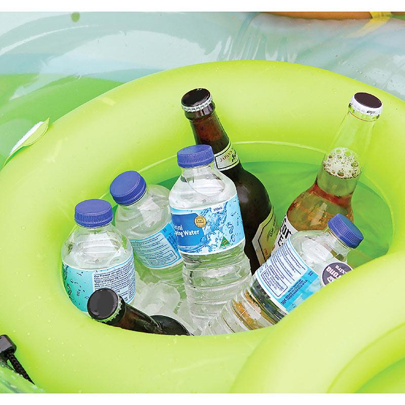 Schwimminsel aufblasbare badeinsel mit abnehmbarem for Aufblasbare pools im angebot
