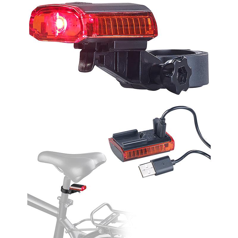zugelassen nach StVZO Akku KryoLights Fahrradlampe FL-211 mit Cree-LED