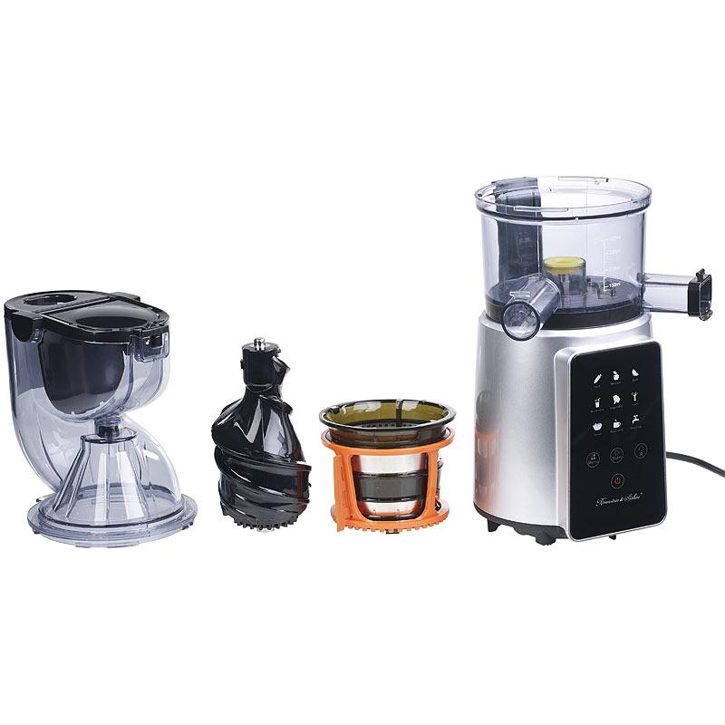 digitaler slow juicer kaltpress entsafter f ganze fr chte 8 progr ebay. Black Bedroom Furniture Sets. Home Design Ideas