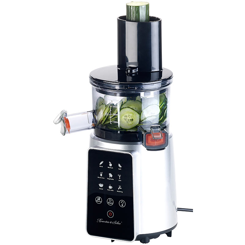 3in1-Slow-Juicer & Entsafter mit Gemuse-Reibe & Eis-Aufsatz, 200 Watt eBay