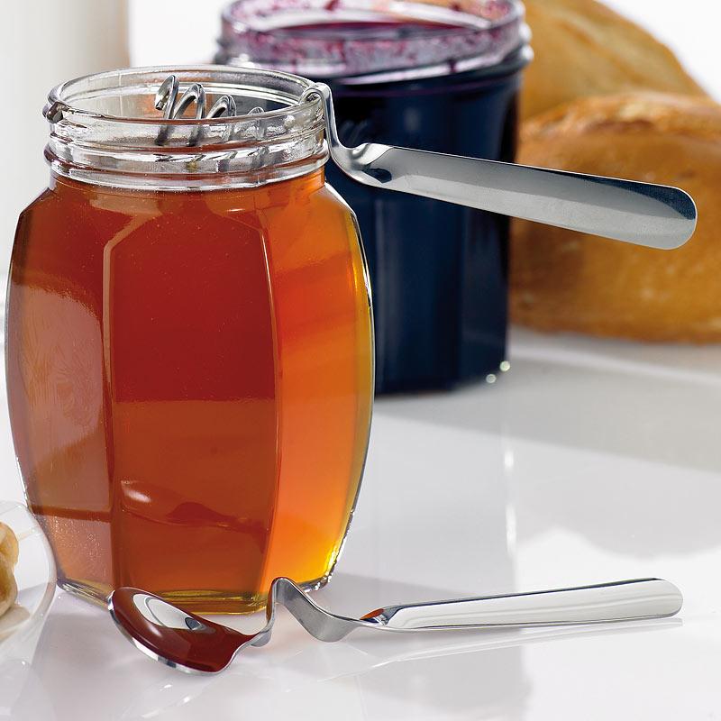 chg spezial l ffel f r honig marmelade im 2er set rostfrei ebay. Black Bedroom Furniture Sets. Home Design Ideas