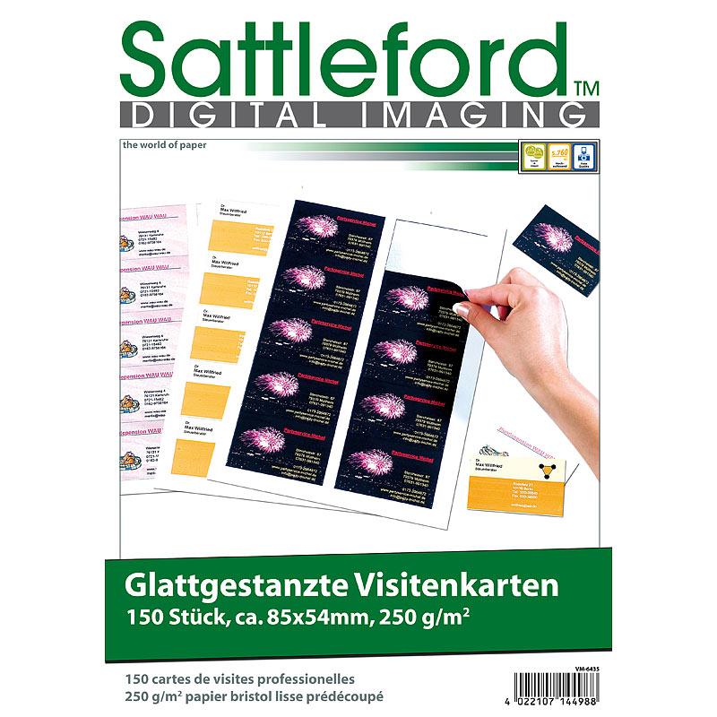 Details Zu 150 Business Visitenkarten Mit Glatten Kanten Laser Injekt 250g M
