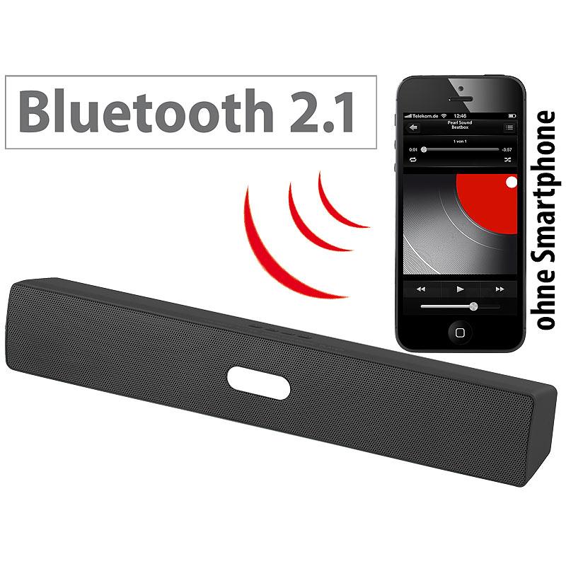 boombox portabler lautsprecher mit bluetooth mp3 player und fm radio 15 watt ebay. Black Bedroom Furniture Sets. Home Design Ideas