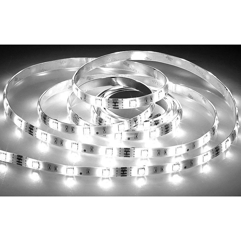 led band set led streifen lat 530 5 m 800 lumen warm kaltwei dimmbar ip44 ebay. Black Bedroom Furniture Sets. Home Design Ideas