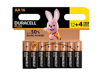 Batterien AA Plus Power Vorteils-Set 12 + 4 Stück gratis