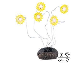 Solar-Sonnenblumen mit Lichtsensor