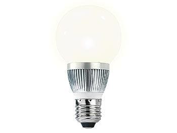Energiespar-LED-Lampe mit 3 Watt, E27, Bulb, warmweiß, 205 lm