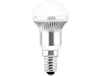 3x1W LED-Energiespar-Reflektorlampen R50 E14, kaltweiß, 185 lm