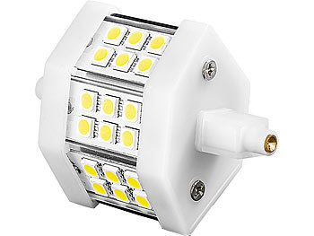 LED-SMD-Lampe mit 18 High-Power-LEDs, R7S, 78mm, warmweiß