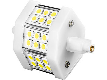 LED-SMD-Lampe m. 18 High-Power-LEDs R7S 78mm,tageslichtweiß, 350 lm