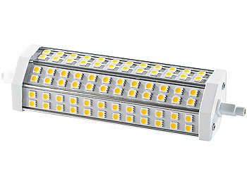 LED-SMD-Lampe mit 72 High-Power-LEDs R7S 189mm, warmweiß
