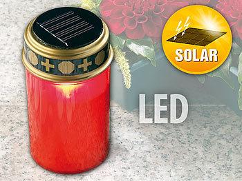 Solar-LED-Grablicht mit Dämmerungssensor