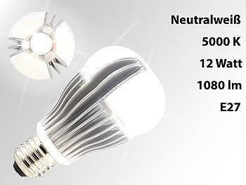 Dimmbare Premium-LED Lampe E27, 12 Watt, 1.080 lm, weiß, 5000 K