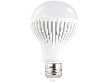 LED-Lampe, 9W, E27, warmweiß, 3000 K, 585 lm