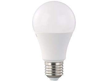 LED-Lampe, A+, 12 W, E27, dimmbar, warmweiß, 2700 K, 1.055 lm