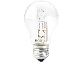 Halogen-Glühbirne, A55, E27, 20 W, 235 lm, warmweiß, dimmbar