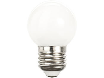 Retro-LED-Lampe E27, 3 Watt, G45, 250 lm, weiß, 5000 K