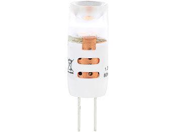 High-Power LED-Stiftlampe, G4, 1,2 W, tageslichtweiß