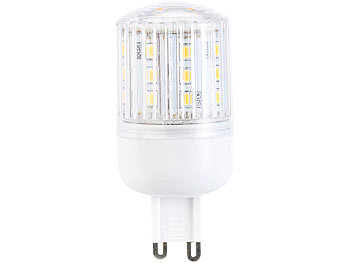 LED-Kolben, G9, 3,5 W, 230 lm, 350°, warmweiß