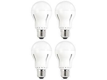 LED-Lampe E27, 12 W, dimmbar, tageslichtweiß 6400 K, 1055 lm, 4er-Set