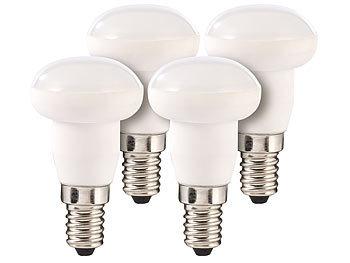 Keramik-LED-Reflektor, R39, E14,4 W, 6.400 K tageslichtweiß, 4er-Set