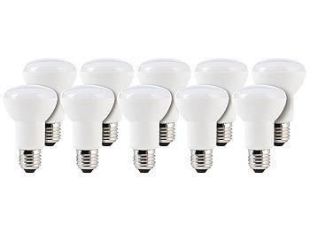 LED-Reflektor E27, R63, 8 W, 600 lm, tageslichtweiß 6400 K, 10er-Set